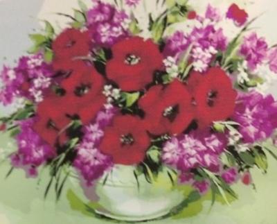 """Картины по номерам """"Маки цветы"""" 40*50 см"""