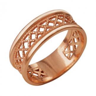Кольцо с позолотой арт. CN105