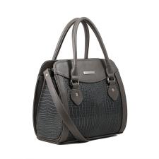 Женская каркасная сумка/графит