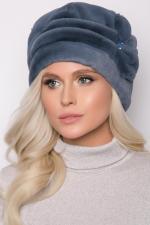 Женская шапка эко мех / кролик