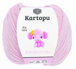 Пряжа Амигуруми Картопу /нежно-розовый