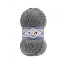 Пряжа Lanagold 800 / серый меланж