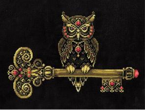 Набор для вышивки крестом  Ключ мудрости.